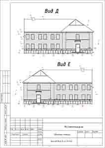 Обмеры фасадов и помещений