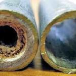 Устранение засоров в системе водяного отопления.